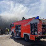 Einsatz der Feuerwehr Bergisch Gladbach auf dem Betriebsgelände