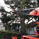 Kräfte der Feuerwehr Bergisch Gladbach im Einsatz
