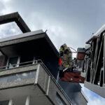 Brandeinsatz im Stadtteil Bensberg