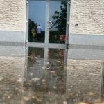 Unwetter im Stadtteil Schildgen von Bergisch Gladbach