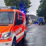 Feuerwehr und THW gemeinsam im Einsatz in Bergisch Gladbach