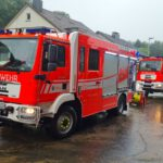 Feuerwehr Bergisch Gladbach im Unwettereinsatz